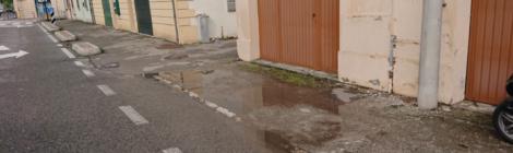 La fretta dell'apparire: piccola storia di manutenzione stradale