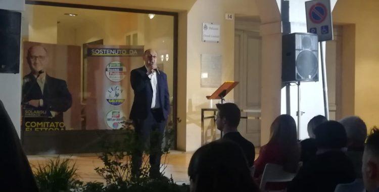 """Solaroli: """"Grazie a tutti, sto bene. Il 22 maggio Salvini a Lugo"""""""